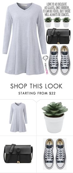 """your lies don't phase me anymore."" by rupp ❤ liked on Polyvore featuring M&Co, casualoutfit, sporty, casualdress, newchic and fall2017"