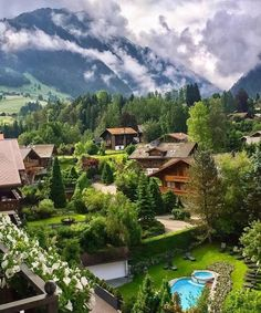 Gstaad Suiza.