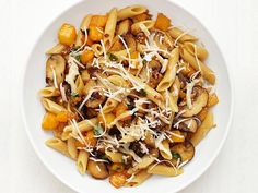 This Penne with Butternut Squash is even heartier (and healthier) when made with whole-wheat or multigrain penne.