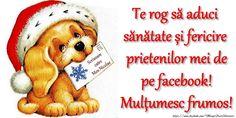 Felicitari de Mos Nicolae - La multi ani Nicolae! - mesajeurarifelicitari.com Happy Anniversary Cards, Teddy Bear, Facebook, Cots, Teddy Bears, Anniversary Cards