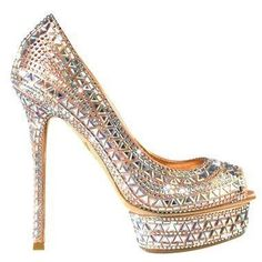 Sparkly Pumps Style Sparkly Pumps shoes featured fashionI would only wear these with an Aztec-inspired outfit.