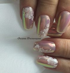 Nail art Christmas - the festive spirit on the nails. Over 70 creative ideas and tutorials - My Nails Elegant Nail Designs, Elegant Nails, Gel Nail Designs, Stylish Nails, Beautiful Nail Art, Gorgeous Nails, Fabulous Nails, Fancy Nails, Cute Nails