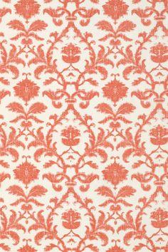 ANITA DAMASK, Red, F88638, Collection Shangri-La from Thibaut