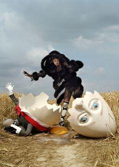 Vogue. Humpty Dumpty. Tim Walker.