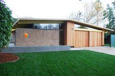 Eichler interesting front wood facade: 749 Wildwood