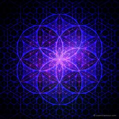 Trinity - Flower of Life, Seed of Life and 64 Tetrahedron Grid