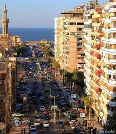 Port sa'ed city egypt