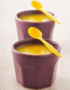Vite fait, bien fait : les petites crèmes au citron Un dessert rapide mais à préparer la veille.