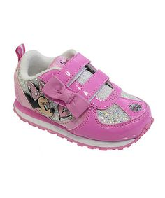 c6f118faf4f Pink Minnie Mouse Bow Sneaker  zulilyfinds Minnie Mouse