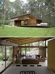 51 stunning modern container house design ideas for comfortable life every day 25 Modern House Design Comfortable Container day design House Ideas Life Modern Stunning Casas Containers, Forest House, House In The Woods, Modern House Design, Modern Architecture, Future House, Building A House, Building Homes, House Plans
