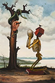 Surreal Paintings by Mike Davis | Cuded