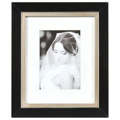 Artcare Taylor Black and Gold Matted Wall Frame (16X20), Size 11x14 (Wood)