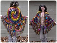 Items similar to Custom Made For You Freeform Crochet Shawl // Ooak Wearable Fiber Art on Etsy Freeform Crochet, Crochet Shawl, Knit Crochet, Hippie Crochet, Irish Crochet, Hello Kitty Imagenes, Paisley, Different Stitches, Yarn Crafts