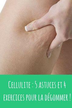 Cellulite : je vous propose 5 astuces et 4 exercices de sport ciblés pour l'éliminer