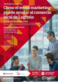 Cómo el email marketing puede ayudar al comercio local de Logroño. Jueves Facultad