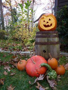 A Happy Jack O Lantern