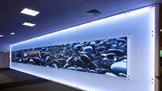 Video wall @ Chch International airport - craig