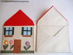 house from an envelope Preschool Family, Preschool Learning Activities, Creative Activities, Preschool Activities, Bible Crafts For Kids, Toddler Crafts, Fun Crafts, Arts And Crafts, Paper Crafts