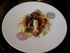 JHS * * *  /  La mer dans le plat, les crevettes calmars Gino D'Aquino