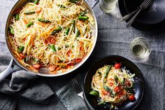 One-Pot Pasta Primavera recipe on Food52