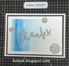 Scrap-Stamp-Share: CTMH Technique Blog Hop - Thrilled About Thin Cuts