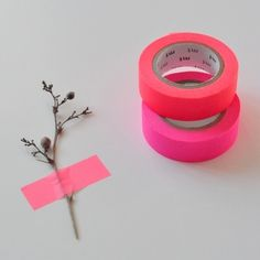 Fluoro Masking Tape from Happy Home via Ma Petite Fabrique