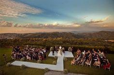 Lindo pasaje para una boda en el campo. Foto de Vinicius Matos