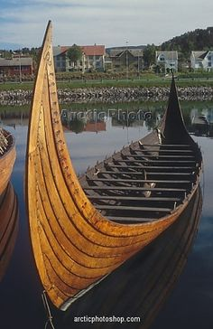 Reproduction Norwegian boats at the Sunnmore Boat Museum, Alesund, C.Norway
