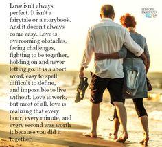 Love is work.