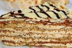 Very famous and people love cake Esterhazy / Fashion Style Hungarian Desserts, Hungarian Cake, Food Cakes, Lithuania Food, Peanut Cake, Cake Recipes, Dessert Recipes, Desserts To Make, Russian Recipes