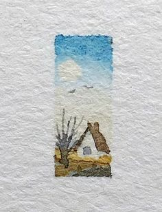 coolbodyart watercolor miniature aquarelle landscape painting artist sketch house small hviid mini doll ilse etsy Miniature watercolor body sketch painting doll house painting mini watercolor small art small You can find Aquarelle and more on our website Sketch Painting, Watercolor Sketch, Watercolor Flowers, Watercolor Ideas, Simple Watercolor, Tattoo Watercolor, Watercolor Animals, Watercolor Techniques, Watercolor Background