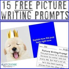 FREE Distance Learning Writing Prompts with Pictures |2nd, 3rd, 4th, 5th, 7th, 8th grade, Activboard Activities, Creative Writing, English Language Arts, Fun Stuff, Homeschool, Literacy Center Ideas, Middle School, Writing Picture Writing Prompts, Writing Pictures, Writing Prompts For Kids, Writing Lessons, 7th Grade Writing Prompts, Creative Writing, Writing Ideas, Interactive Writing Notebook, Writing Binder