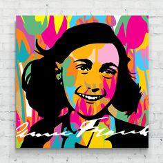 Anne Frank by lobopopart
