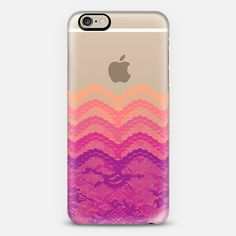 Sunset Ombre Lace Layers iPhone 6 Case by Organic Saturation | Casetify. Get $10 off using code: 53ZPEA