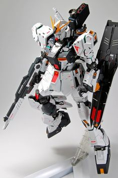 MG 1/100 Nu Gundam Ver.Ka: Latest Work by kenta. Full Photoreview No.51 Big Size Images