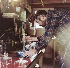 Andy Paiko is a glass blower that has been practicing his craft since he was just a teenager.