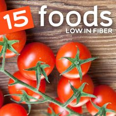 The 10 foods lowest in fiber to balance out your fiber intake or if you are eating a low fiber diet…