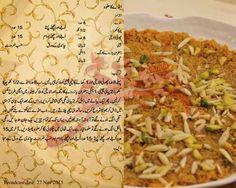 Anday ka halwa Sweet Dishes Recipes, Chef Recipes, Sweet Desserts, My Recipes, Cooking Recipes, Recipies, Pakistani Desserts, Pakistani Recipes, Spicy Sausage Pasta