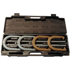 Champion Sports Tournament Horseshoe Set: Classic Outdoor Lawn Game includes Two Chrome & Two Brass Plated Professional Horseshoes with Solid Steel Stakes & Carrying Case Backyard Carnival, Backyard Games, Backyard Camping, Rv Camping, Camping Ideas, Camping Hacks, Backyard Ideas, Outdoor Party Games, Outdoor Fun