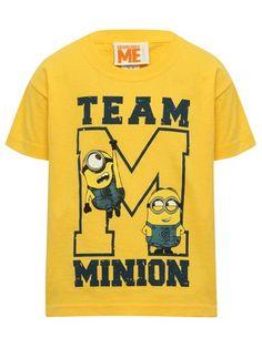 M&Co. Boys Team Minion t-shirt