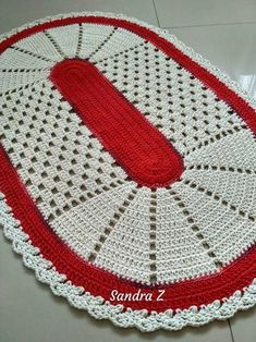 Best 12 Learn how to make Crochet color step by step crochet color art diy embroideryandstitching embroidery and stitching videos – SkillOfKing. Crochet Table Mat, Crochet Mat, Crochet Rug Patterns, Doily Patterns, Weaving Patterns, Crochet Doilies, Step By Step Crochet, Crochet T Shirts, Crochet Home Decor