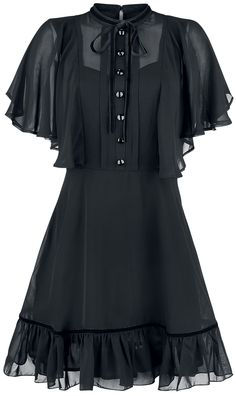 accessories for black dress Imperia Dress - accessories Dark Fashion, Gothic Fashion, Fashion Tips, Fashion Ideas, Style Fashion, Steampunk Fashion, Nu Goth Fashion, Latex Fashion, Petite Fashion