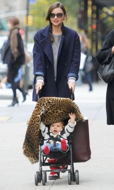 I'm totally in love with Miranda Kerr's baby, little Flynn is adorable!