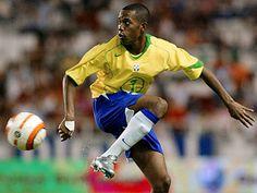 Robinho   Brasil  Throwback jersey hahah