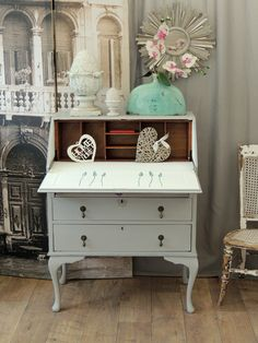 Unique Furniture, Shabby Chic Furniture, Chicano, French Style, London, Cabinet, Storage, Table, Home Decor