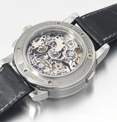 Found: The Only Known A. Lange & Söhne Double-Split In STAINLESS STEEL