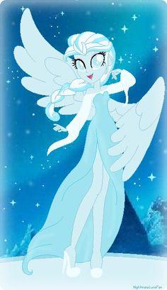snowdrop pony | Snowdrop Equestria Girl: Frozen Wings, Mlp Frozen Ponies, Frozen Jelsa ...