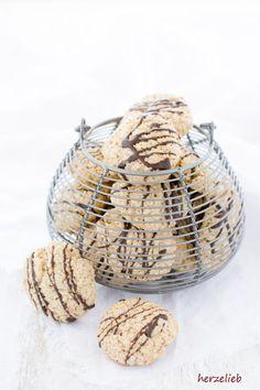 Plätzchen Rezept - Haferkekse schmecken nicht nur Weihnachten - Rezept von herzelieb
