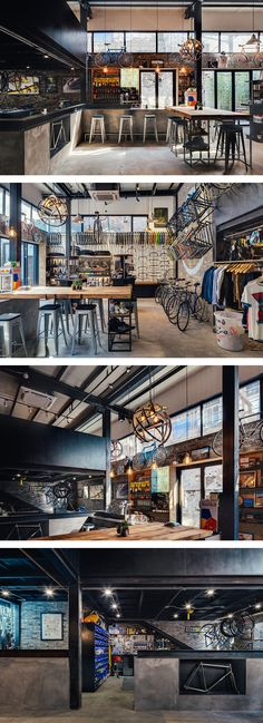 The World's Funkiest Bike Shop Serves Components and Microbrews to City Cyclists                                                                                                                                                                                 More