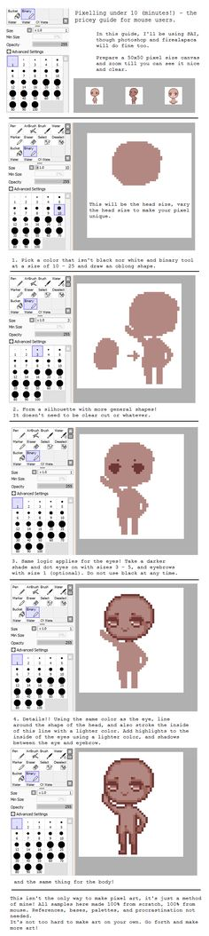 Pixel art tutorial by pricechi.deviantart.com on @deviantART